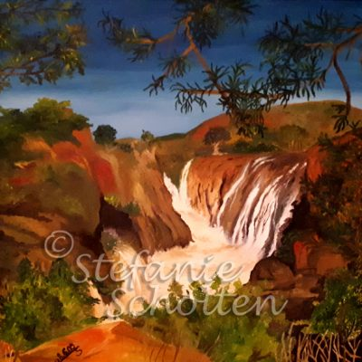 Wasserfall in Südamerika